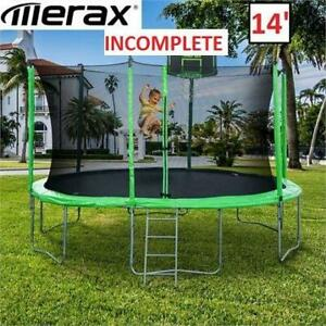 NEW* MERAX TRAMPOLINE 14 SW000009FAA 246666706 INCOMPLETE SEE COMMENTS