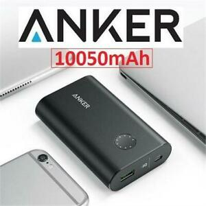 RFB ANKER 10050mAh PORTABLE CHARGER AK-A1311011 237526506 BATTERY PREMIUM ALUMINUM QUICK CHARGE 3.0 REFURBISHED