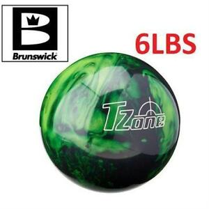 Brunswick Tzone Green Envy Bowling Ball, 6-Pounds