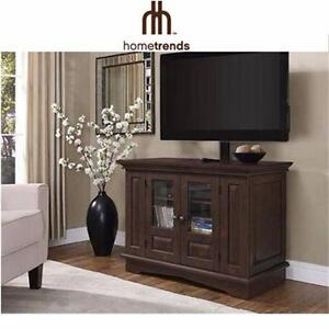 """NEW* WILLOW MOUNTAIN TV STAND TV STAND WITH MOUNT UP TO 40"""" TV'S HOME LIVING ROOM FURNITURE ENTERTAINMENT UNIT 98739480"""