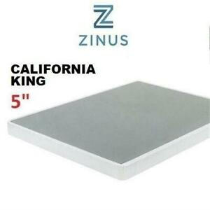 NEW ZINUS 5 SMART BOX SPRING OLB-ABS-5CK 245068372 CALIFORNIA KING MATTRESS FOUNDATION