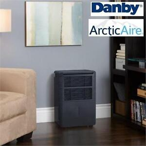 NEW* ARCTICAIRE 70PINT DEHUMIDIFIER DANBY - BLACK - AIR QUALITY - 70 PINT heating cooling temperature 'A 74582369'