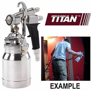NEW TITAN TURBINE PAINT SPRAY GUN MAXUM II HVLP - TITAN TOOL - PAINT SPRAYER PAINTING SUPPLIES WALL TREATMENT 91217864