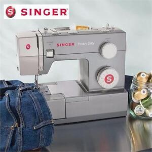 NEW SINGER SEWING MACHINE 11 STITCH   HEAVY DUTY EXTRA-HIGH SEWING SPEED METAL FRAME STAINLESS STEEL BEDPLATE 93766331
