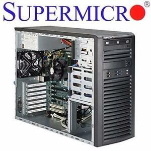 NEW SUPERMICRO BAREBONE SERVER MID TOWER SOCKET 1150 INTEL - C226 - DDR3 1600 COMPUTER TOWER DESKTOP  90627551