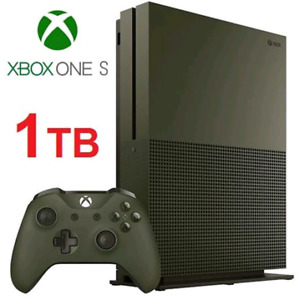 NEW OB XBOX ONE S 1TB CONSOLE SP ED no game