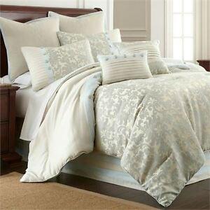8pc Jacquard Comforter Set Queen Size ( $250.00)