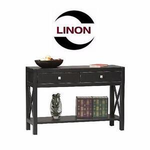 NEW LINON ANNA CONSOLE TABLE   Linon 86107C124-01-KD-U Anna Collection Console Table HOME FURNITURE 96232704