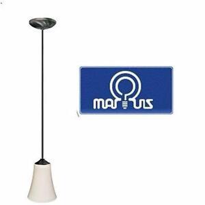 NEW MARQUIS MINI PENDANT LIGHT   SATIN OPAL GLASS ANTIQUE BRONZE FINISH HOME INDOOR CEILING LIGHT 98285982