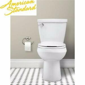 NEW AS RENAISSANCE ROUND TOILET AMERICAN STANDARD WHITE -WaterWarden Toilet-To-Go Right Height 2-piece 1.28 GPF 92043477