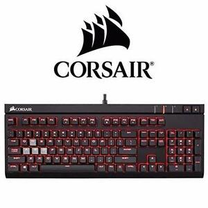 NEW CORSAIR GAMING KEYBOARD   STRAFE CHERRY MX RED MECHANICAL KEYBOARD - COMPUTER ACCESSORIES ELECTRONICS 99692876