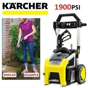 NEW KARCHER 1900PSI PRESSURE WASHER K1900 247237503 1.3GPM ELECTRIC POWER CLEANING