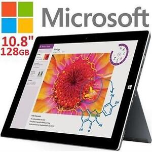 """NEW MICROSOFT SURFACE 3 128GB - 123893689 - 10.8"""" TABLETS"""