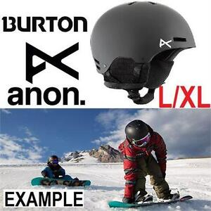 NEW ANON HELMET YOUTH L/XL 52-55CM BURTON ANON RIME KIDS' HELMET - SNOWBOARDING SKIING - WINTER SPORTS HELMET