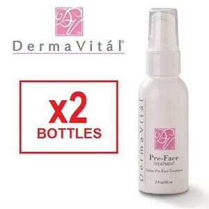 2 NEW DERMAWAND PRE FACE TREATMENT - 111279042 - DERMAVITAL - 2OZ/59ML - SKIN CARE  (EXP. 24M FROM OPEN)