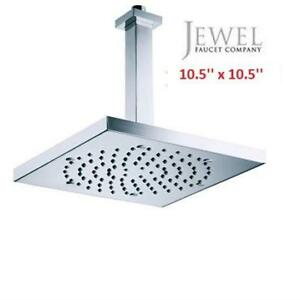 OB JEWEL SQUARE SHOWER HEAD H61715 227062258 OPEN BOX  CEILING MOUNT ANTI LIME