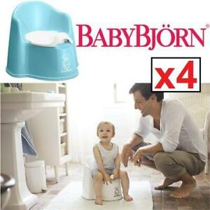 4 NEW BABYBJORN POTTY CHAIR 250165759 TURQUOISE