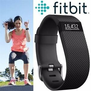 REFURB FITBIT CHARGE HR TRACKER LG   BLACK - LARGE - ACTIVITY TRACKER - FITNESS TRACKER - OUTDOORS - WRISTBAND  86624001