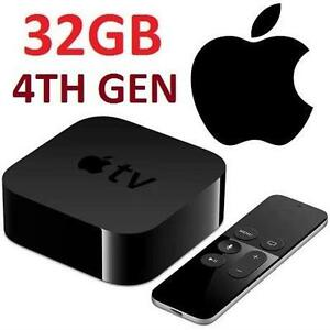 REFURB APPLE TV 32GB 4TH GEN HD TV TELEVISION MEDIA PLAYER 101877244