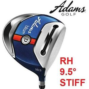 NEW* ADAMS BLUE DRIVER GOLF CLUB RH RIGHT HAND - GRAPHITE SHAFT - 9.5° - STIFF FLEX 102569197