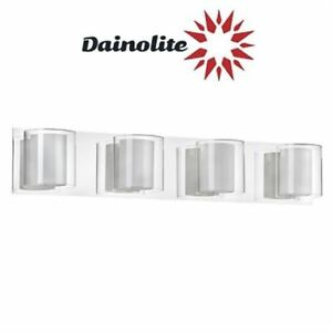 Bathroom Light, Chrome Vanity - Dainolite Lighting V311-4W-PC