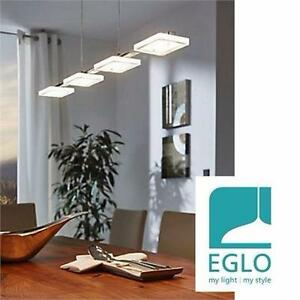NEW EGLO CARTAMA LED PENDANT LIGHT   Chrome Finish With Frosted Shade HOME INDOOR CEILING  LIGHTING 98566992