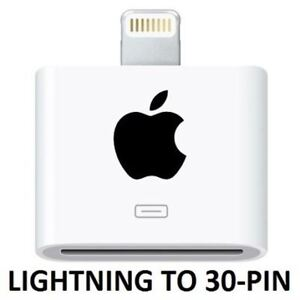 Apple Lightning to 30-Pin Adapter - White Model #: MD823AM/A Web