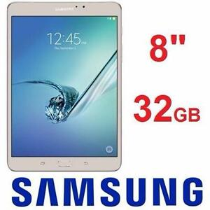 "NEW OB SAMSUNG GALAXY TAB S2 32GB   WI-FI GOLD TABLET - 8"" - ELECTRONICS - NEW OPEN BOX PRODUCT ENTERTAINMENT  97229694"