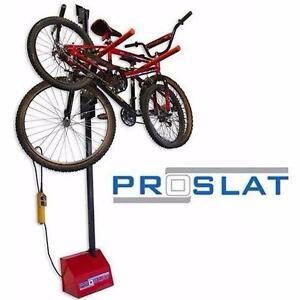 NEW PROSLAT MOTORIZED BIKE LIFT WALL MOUNT - BIKE STORAGE SYSTEM 83866387