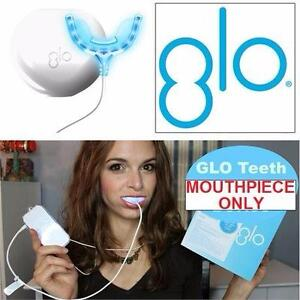 NEW GLO TEETH WHITENING MOUTHPIECE   GLO BRILLIANT WHITENING MOUTHPIECE & CASE - ORAL CARE HEALTH BEAUTY 92959462