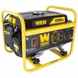 USED WEN 1800 W PORTABLE GENERATOR   GASOLINE PORTABLE GENERATOR - CARB COMPLIANT POWER TOOL EQUIPMENT 97779283