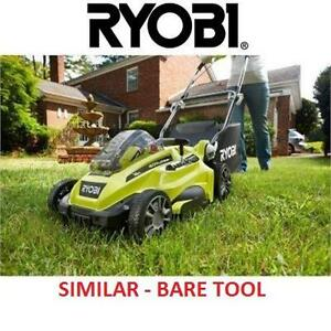 "NEW RYOBI 16"" 40 V LAWN MOWER - 124007231 - BARE TOOL - BATTERY AND CHARGER SOLD SEPARATELY"
