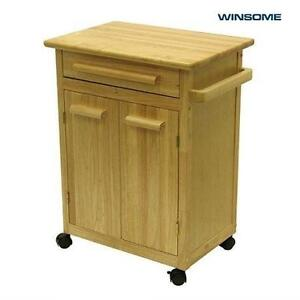 NEW WINSOME CABINET KITCHEN CART WOOD CABINET KITCHEN CART 105888391