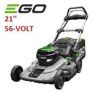 NEW EGO 21'' 56 VOLT ELECTRIC MOWER LM2101 187557495 PUSH LAWNMOWER CORDLESS WITH BATTERY AND CHARGER