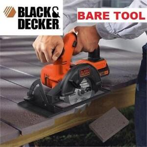 """NEW BLACK  DECKER CIRCULAR SAW BDCCS20B 216482286 5.5"""" BARE TOOL BATTERY  CHARGER SOLD SEPARATELY"""