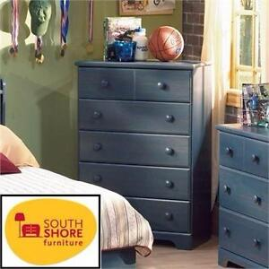 "NEW* SS 5-DRAWER DRESSER CHEST SOUTH SHORE - BLUEBERRY - 45""x31""x16"" BEDROOM FURNITURE   85262999"
