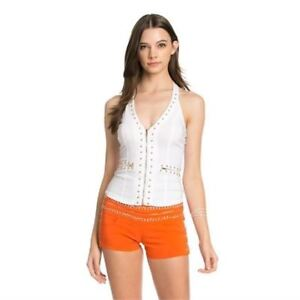 NEW OH YES TOPS WOMEN'S LARGE-White