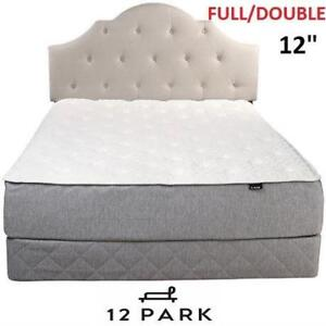 """NEW 12 PARK 12"""" MEMORY MATTRESS 655-451 155082716 DOUBLE FULL QUILTED SMART TEMP MEMORY FOAM LUXURY"""