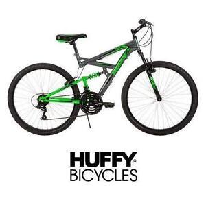 "USED* HUFFY ROCK CREEK 26"" BIKE MEN'S - BICYCLE - MOUNTAIN BIKE - 18 SPEED"