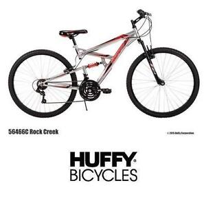 "NEW* HUFFY ROCK CREEK 27.5"" BIKE - 114254113 - MEN'S BICYCLE MOUNTAIN BIKE 18 SPEED"