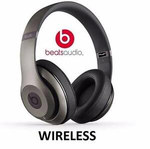 REFURB BEATS STUDIO 2.0 HEADPHONES TITANIUM - OVER-EAR - WIRELESS DR DRE   82107195