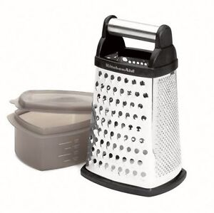 NEW: KitchenAid Boxed Grater with Covered Container
