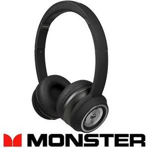 NEW OB MONSTER N-TUNE HEADPHONES BLACK - ON-EAR HEADPHONES - ELECTRONICS - HOME AUDIO - WIRED - NEW OPEN BOX 90211217