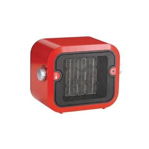 Red Ceramic Space Heater and low speed fan with thermosat