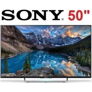 "NEW OB SONY 50"" LED SMART HDTV KDL50W800C 133426071 LED ANDROID TELEVISION"