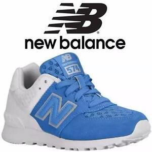 NEW NEW BALANCE SHOES BOYS 10.5M   BLUE/WHITE - KIDS PRESCHOOL LITTLE KID  85258215