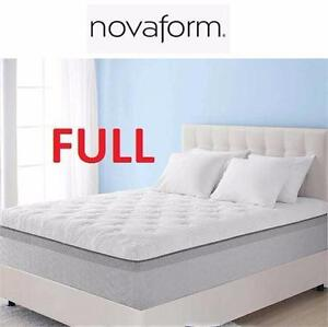"NEW NOVAFORM 14"" MF MATTRESS FULL MEMORY FOAM DOUBLE / FULLHOME FURNITURE DECOR BEDROOM BED BEDDING 98348544"