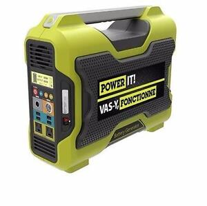 NEW POWER IT! BATTERY GENERATOR   Lithium Ion - 1000W TOOLS POWER EQUIPMENT GENERATORS 94116804
