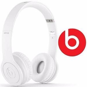 NEW BEATS SOLO HD HEADPHONES ON-EAR HEADPHONES SOLOHD - WHITE 90392908