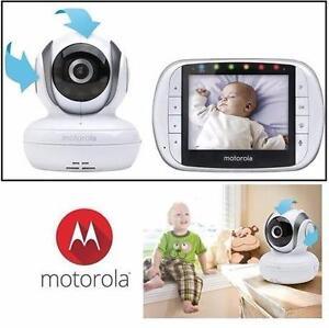 USED MOTOROLA VIDEO BABY MONITOR   DIGITAL - BABY KIDS ELECTRONICS CAMERA PHOTO SURVEILLANCE HOME  SAFETY 93383028